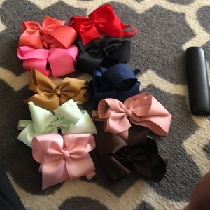 Other - 11 big bows newborn all the way to toddler